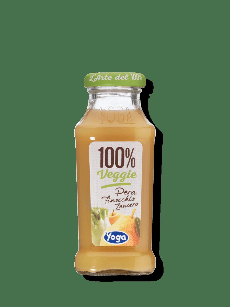 100% Veggie Pera Finocchio Zenzero