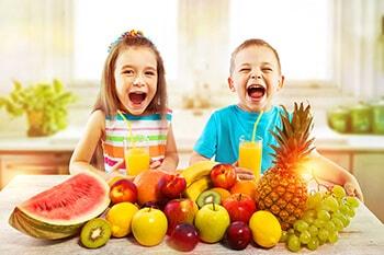 Le proprietà della frutta in base ai colori