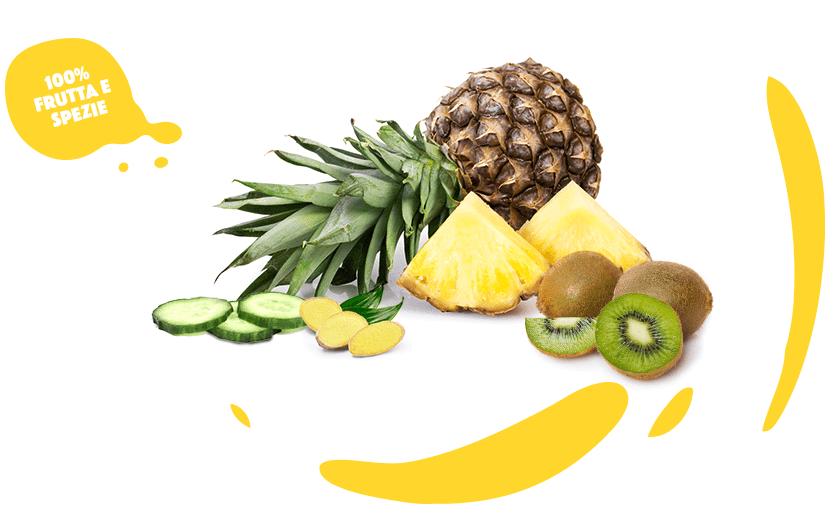 CENTRIFUGATO_zenzero-ananas-kiwi-cetriolo